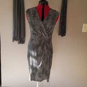 Ann Taylor Knit Sleeveless Dress Size 8